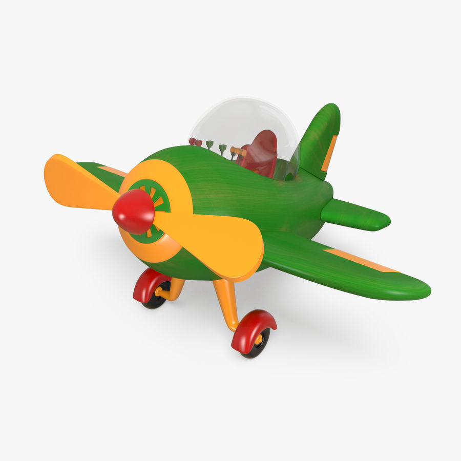 Airplane royalty-free 3d model - Preview no. 1