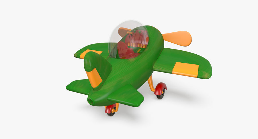 Airplane royalty-free 3d model - Preview no. 6
