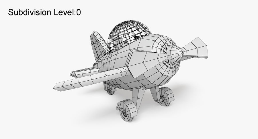 Airplane royalty-free 3d model - Preview no. 10