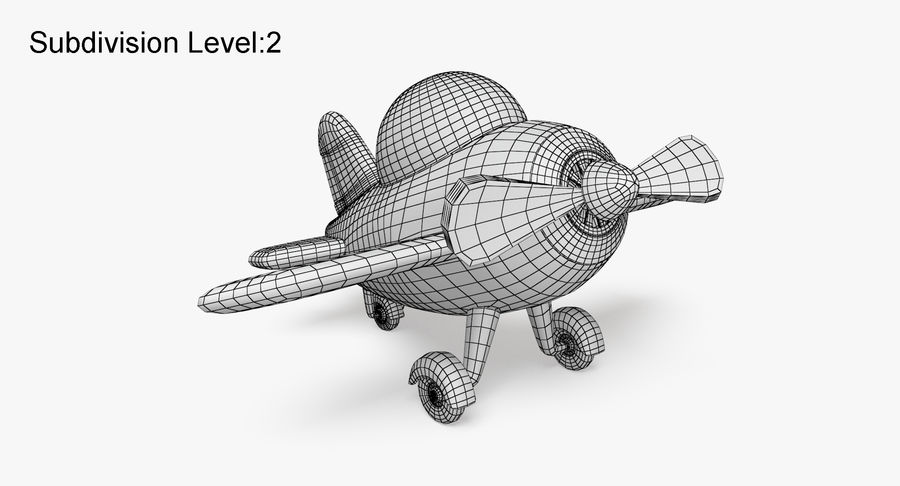 Airplane royalty-free 3d model - Preview no. 11