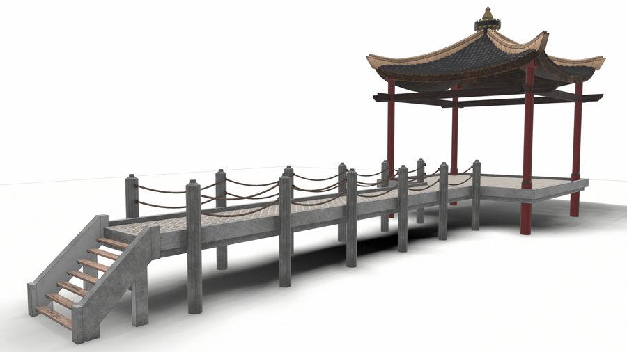 중국 관 royalty-free 3d model - Preview no. 21