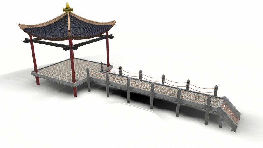중국 관 royalty-free 3d model - Preview no. 6