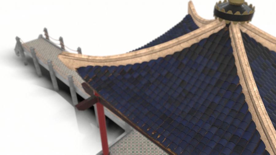 중국 관 royalty-free 3d model - Preview no. 14