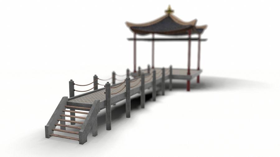중국 관 royalty-free 3d model - Preview no. 3