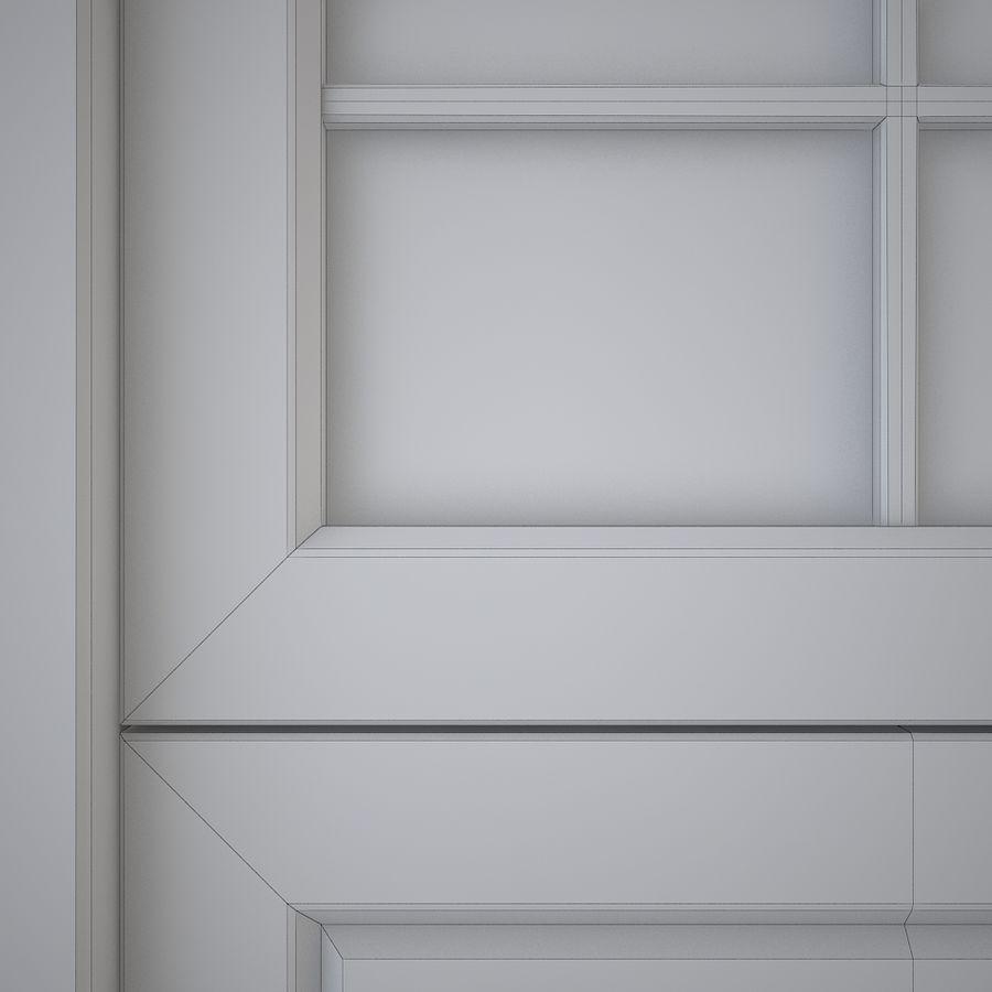 Garagedeur 03 royalty-free 3d model - Preview no. 5