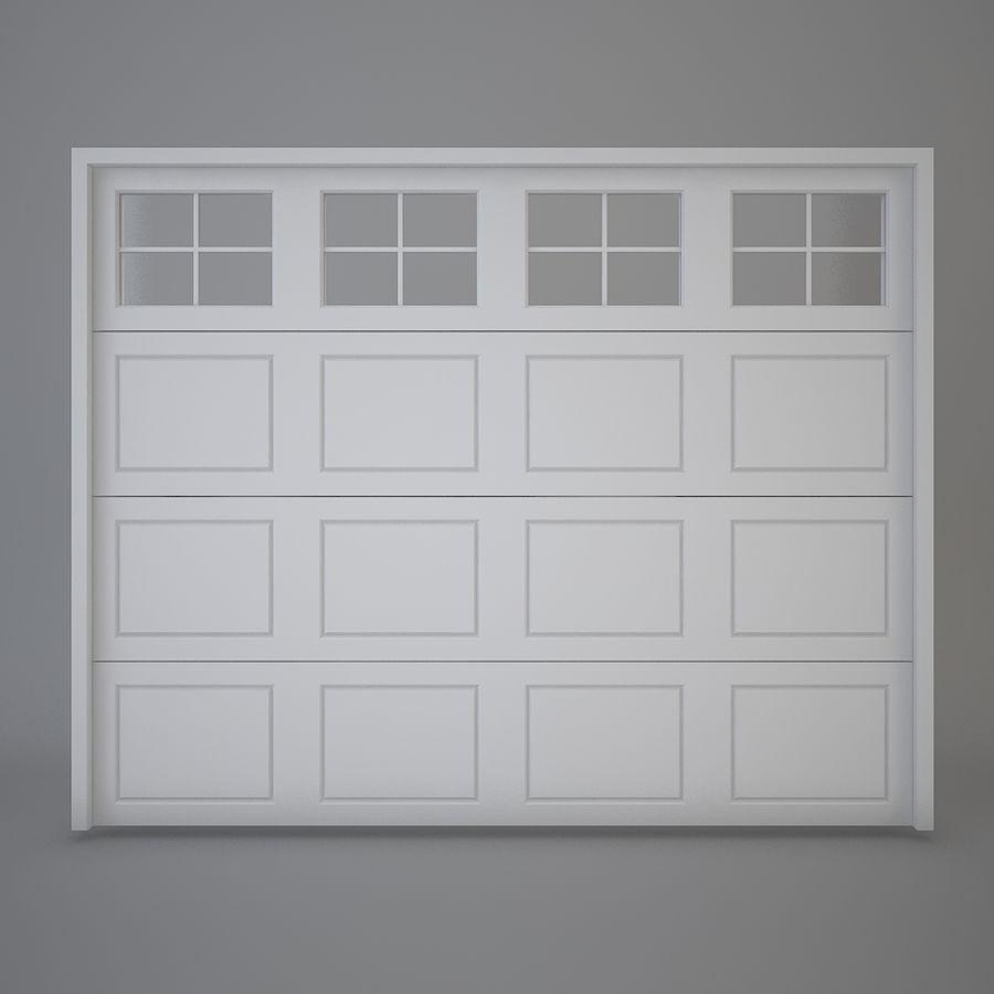 Garagedeur 03 royalty-free 3d model - Preview no. 2
