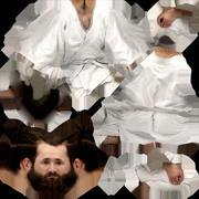 3D Scan Man Sport Taekwondo 007 3d model
