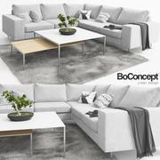 Bank Boconcept Indivi 3d model
