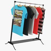 Camiseta Nike con percha Parte 2 modelo 3d