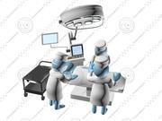 Chirurgische operatie 3d model