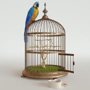 Papağan Ara 3d model