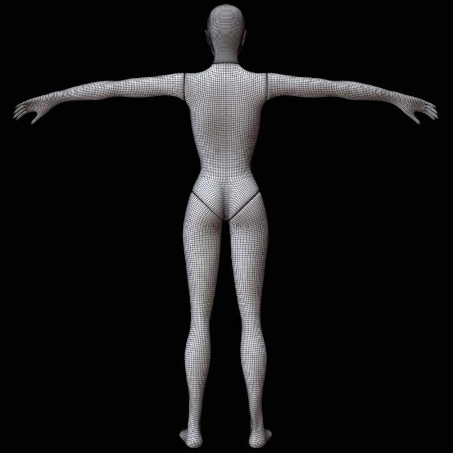 Mannequin female royalty-free 3d model - Preview no. 17