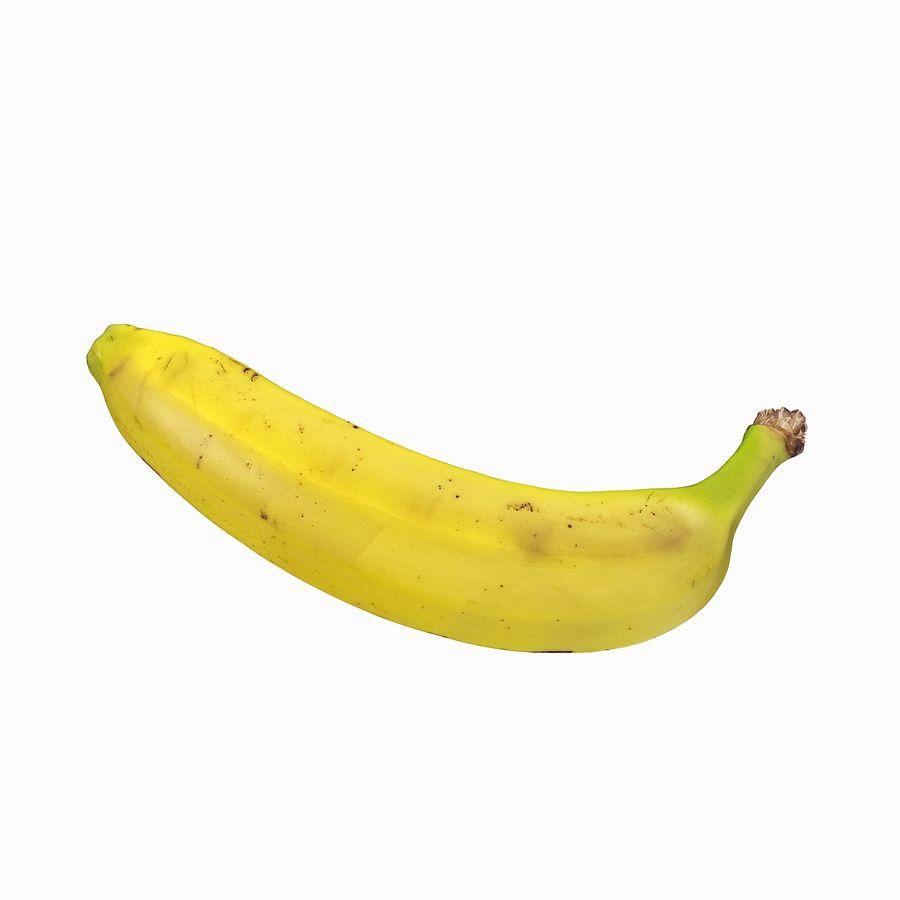 Fruta de plátano realista royalty-free modelo 3d - Preview no. 21