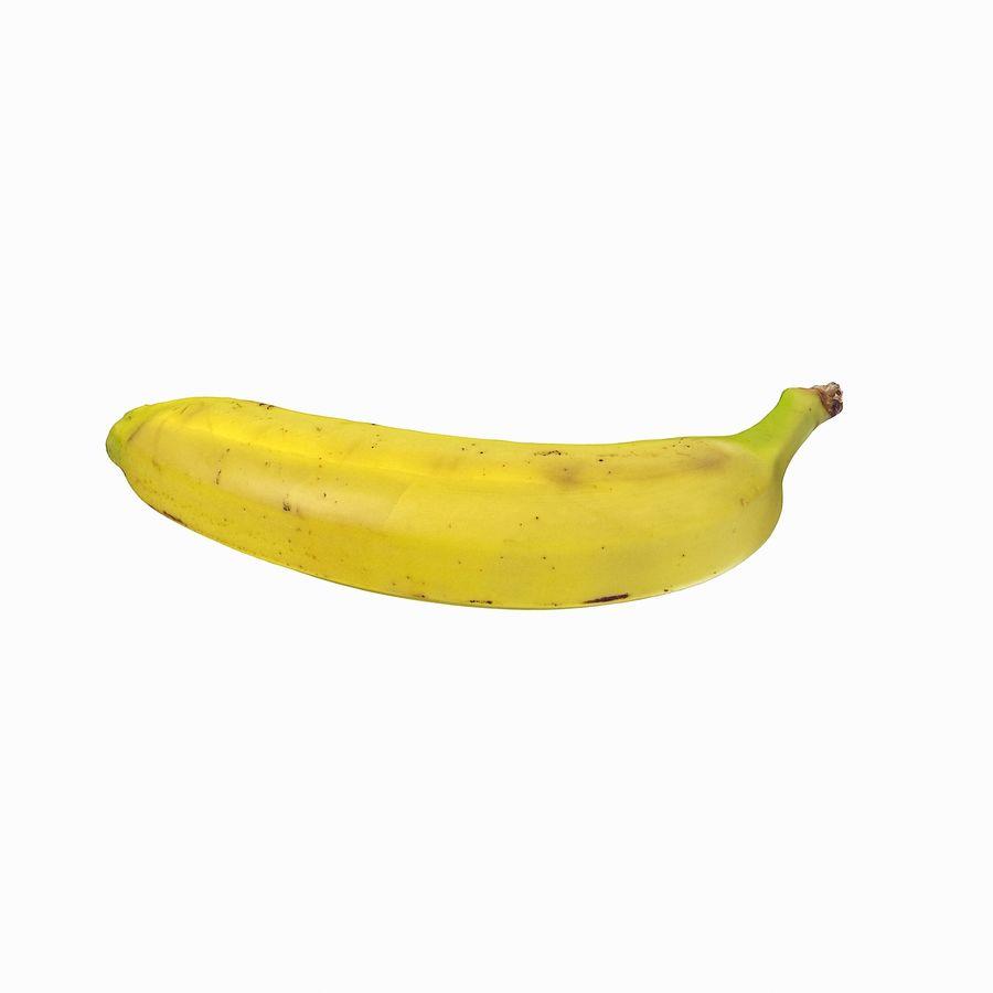 Fruta de plátano realista royalty-free modelo 3d - Preview no. 22