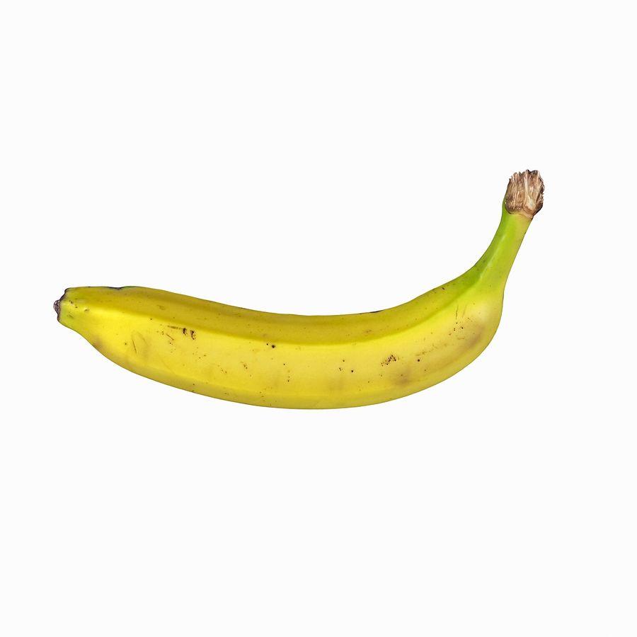 Fruta de plátano realista royalty-free modelo 3d - Preview no. 14