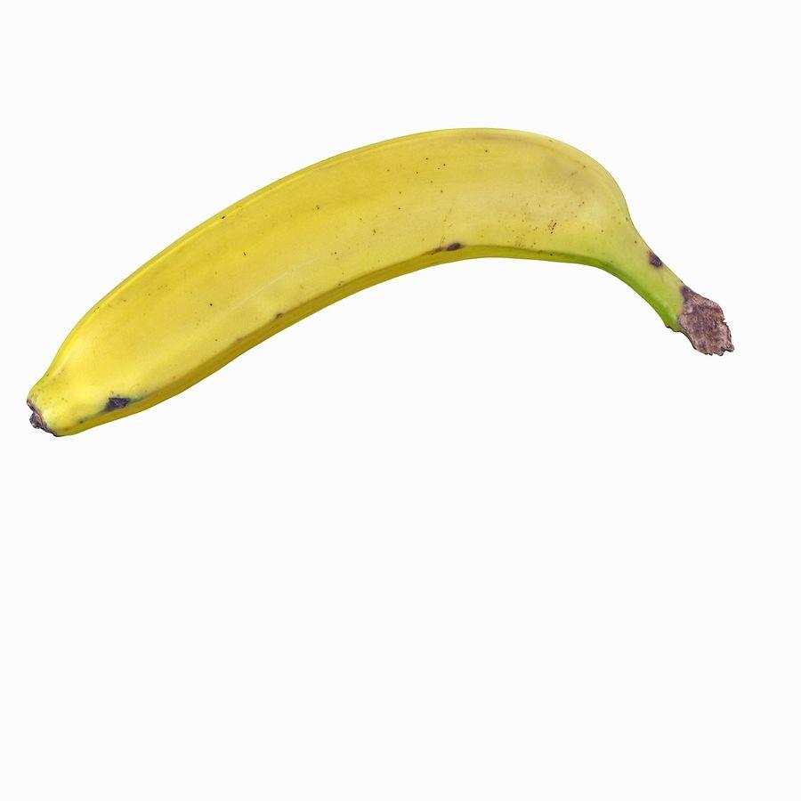 Fruta de plátano realista royalty-free modelo 3d - Preview no. 10
