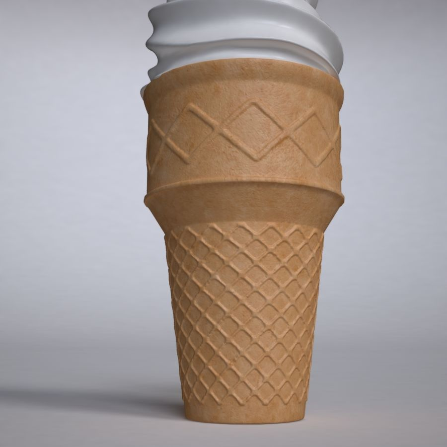 Crème glacée royalty-free 3d model - Preview no. 5