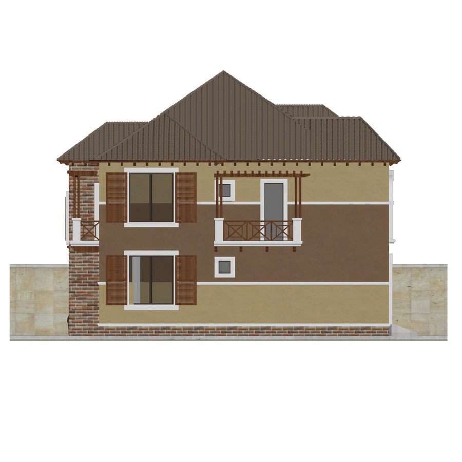 house royalty-free 3d model - Preview no. 6