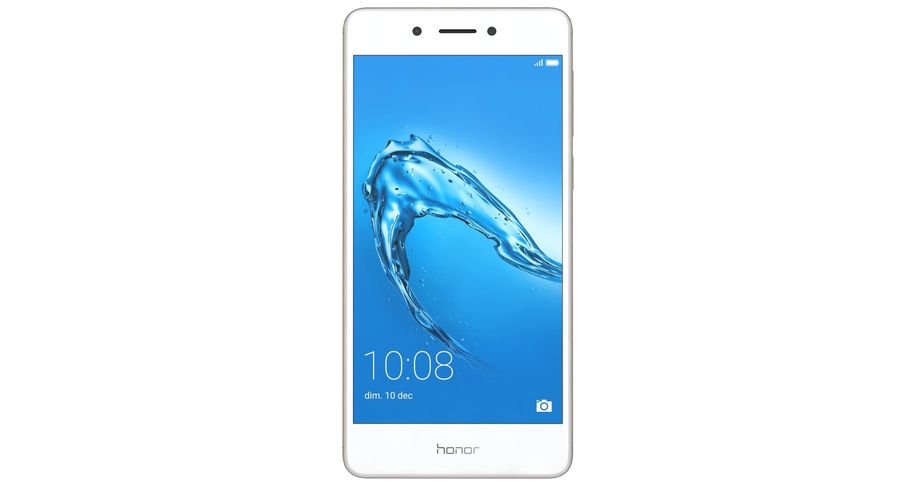 Huawei Honor 6C Gold royalty-free 3d model - Preview no. 9