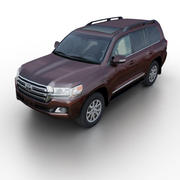 Toyota Land Cruiser 200 2015 3d model