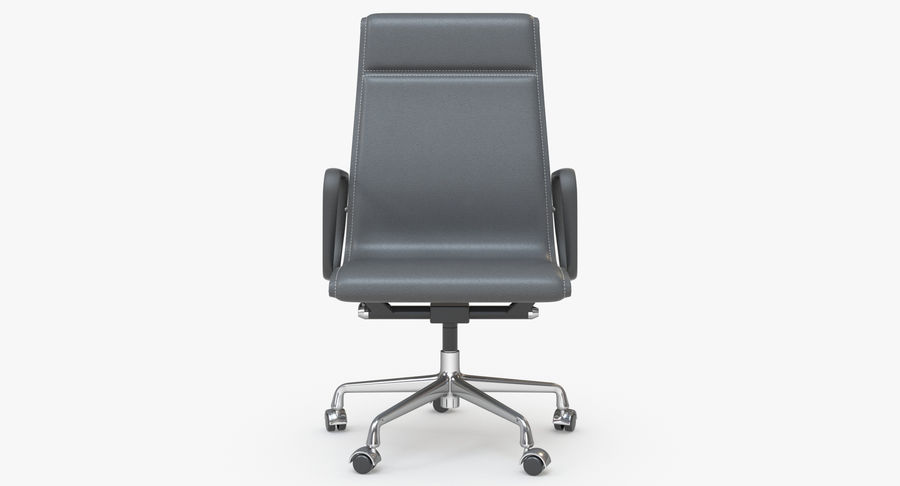 Eames Boss Office Chair royalty-free 3d model - Preview no. 4