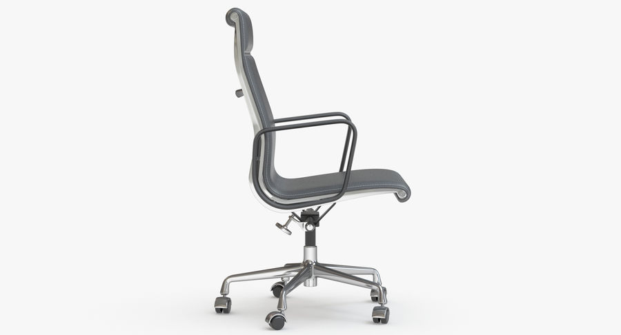Eames Boss Office Chair royalty-free 3d model - Preview no. 6