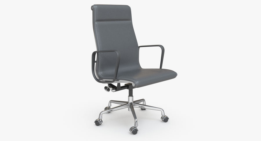 Eames Boss Office Chair royalty-free 3d model - Preview no. 2
