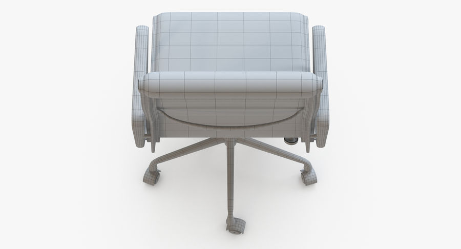 Eames Boss Office Chair royalty-free 3d model - Preview no. 10