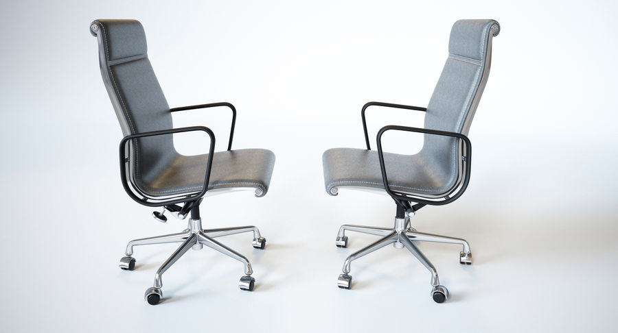 Eames Boss Office Chair royalty-free 3d model - Preview no. 13