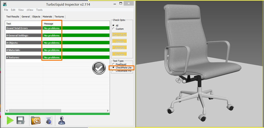 Eames Boss Office Chair royalty-free 3d model - Preview no. 15
