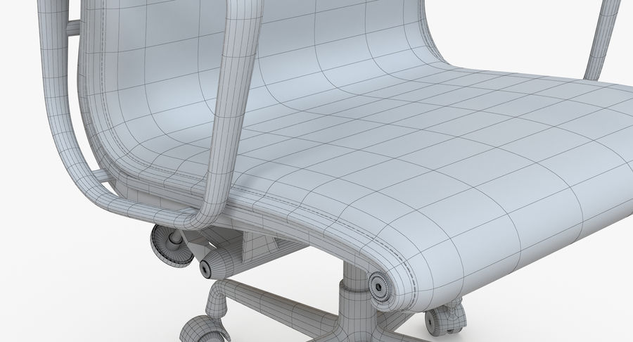 Eames Boss Office Chair royalty-free 3d model - Preview no. 11