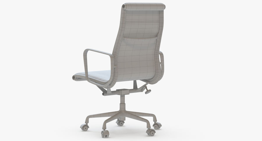 Eames Boss Office Chair royalty-free 3d model - Preview no. 9