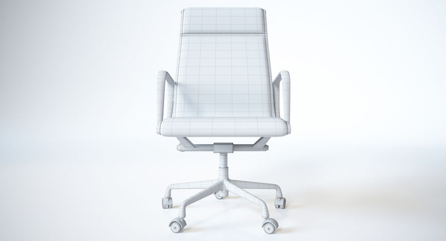 Eames Boss Office Chair royalty-free 3d model - Preview no. 12