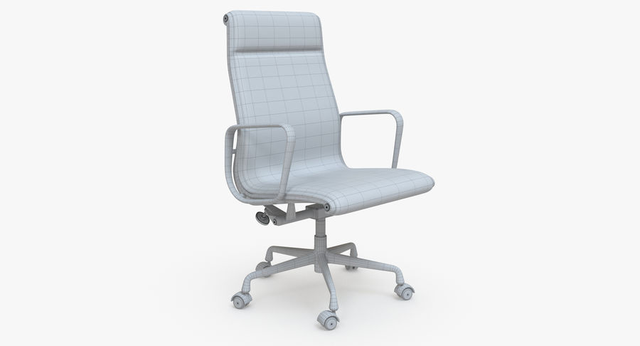 Eames Boss Office Chair royalty-free 3d model - Preview no. 8