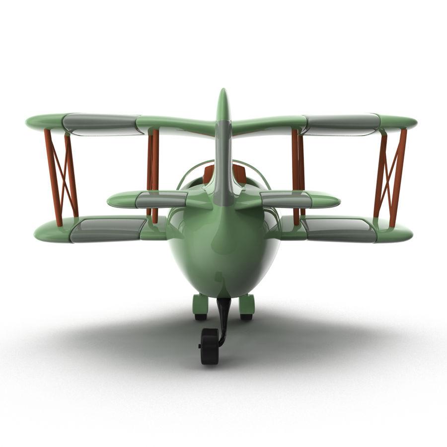 Samolot kreskówki royalty-free 3d model - Preview no. 11