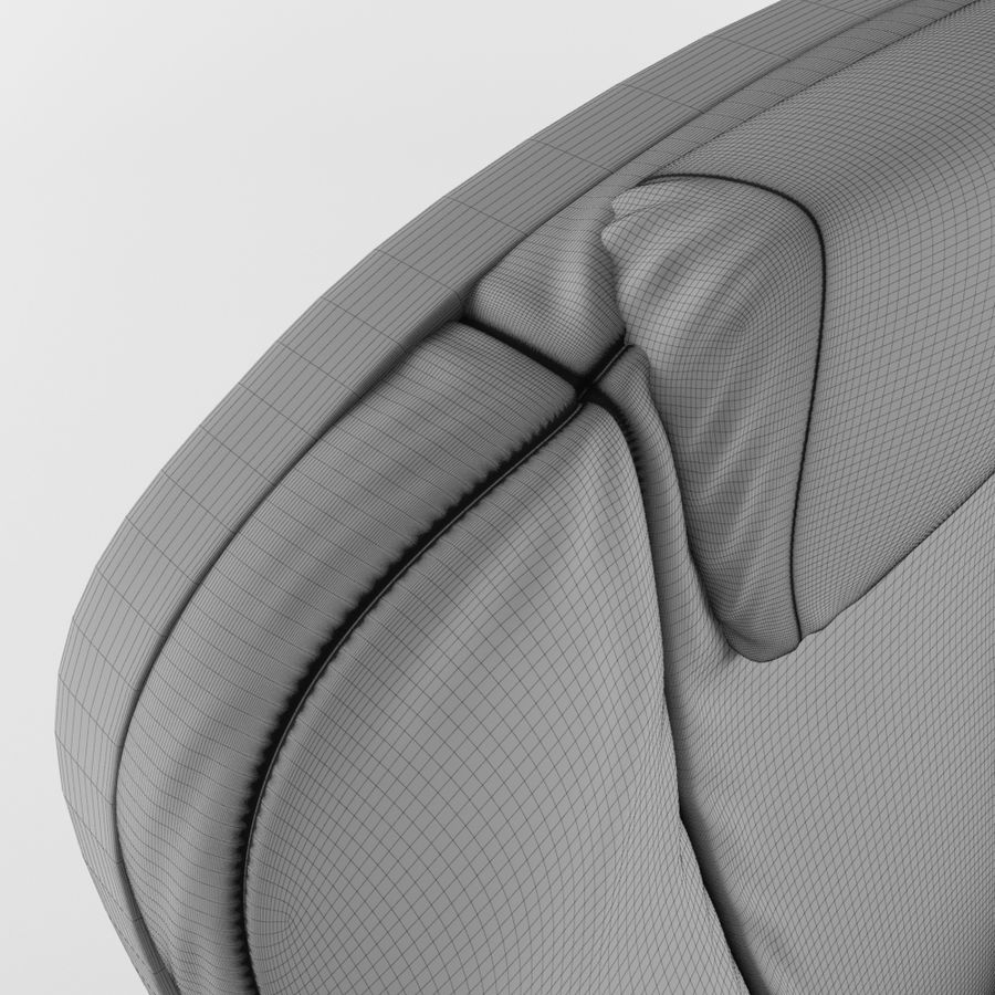 Cinema Chair royalty-free 3d model - Preview no. 15
