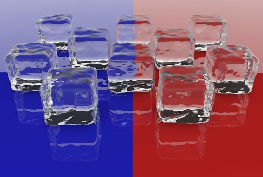 Smooth Ice Cubes royalty-free 3d model - Preview no. 9