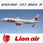 Boeing 737 MAX Lion Air 3d model