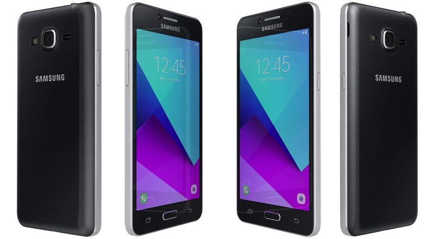Samsung Galaxy J2 Prime Black Modelo 3d 39 Max Blend