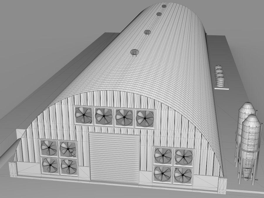 Élevage de volailles royalty-free 3d model - Preview no. 13