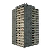 Panel Building (1) 3d model