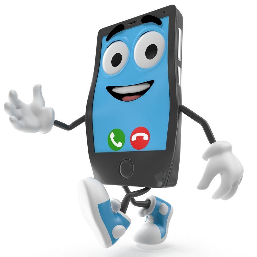 手机 royalty-free 3d model - Preview no. 4