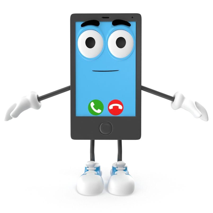 手机 royalty-free 3d model - Preview no. 5