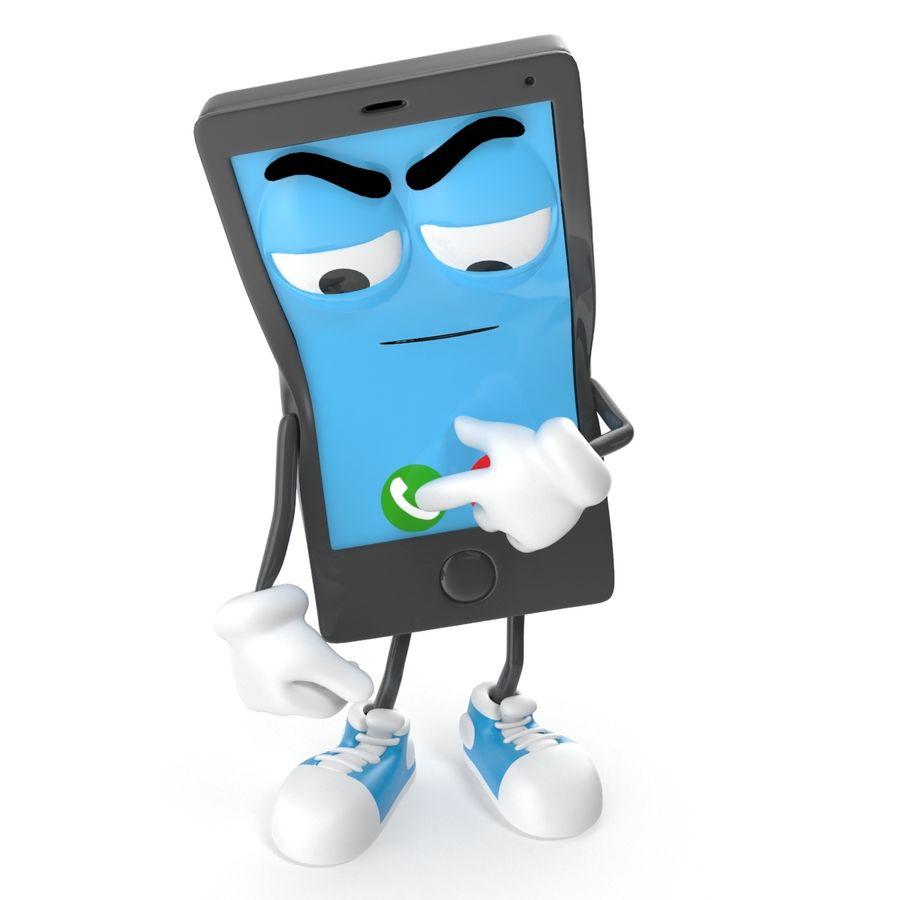 手机 royalty-free 3d model - Preview no. 7