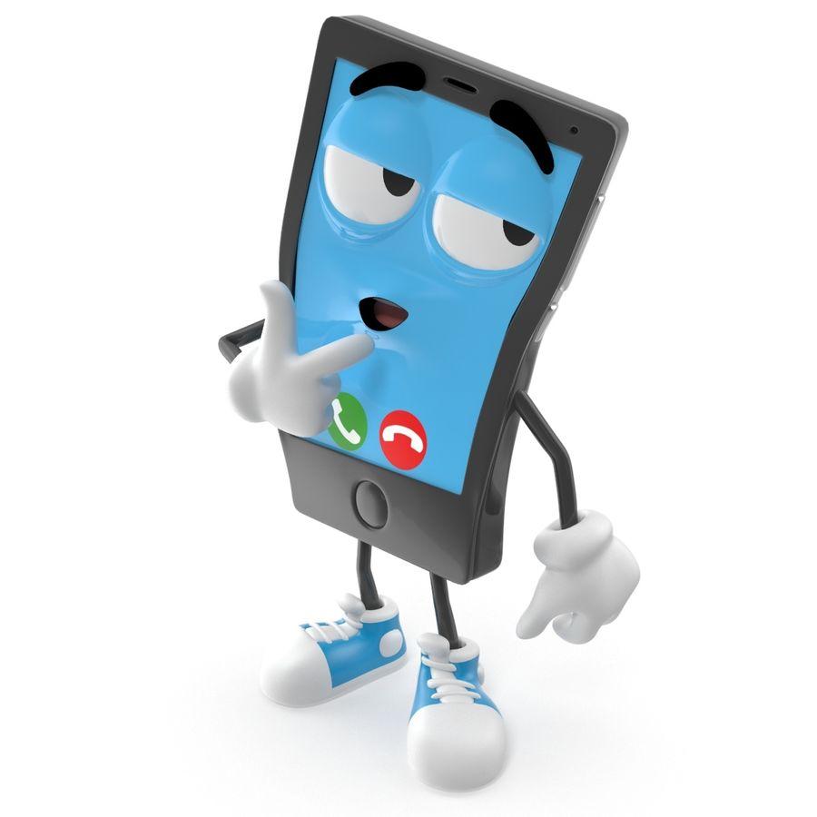 手机 royalty-free 3d model - Preview no. 2