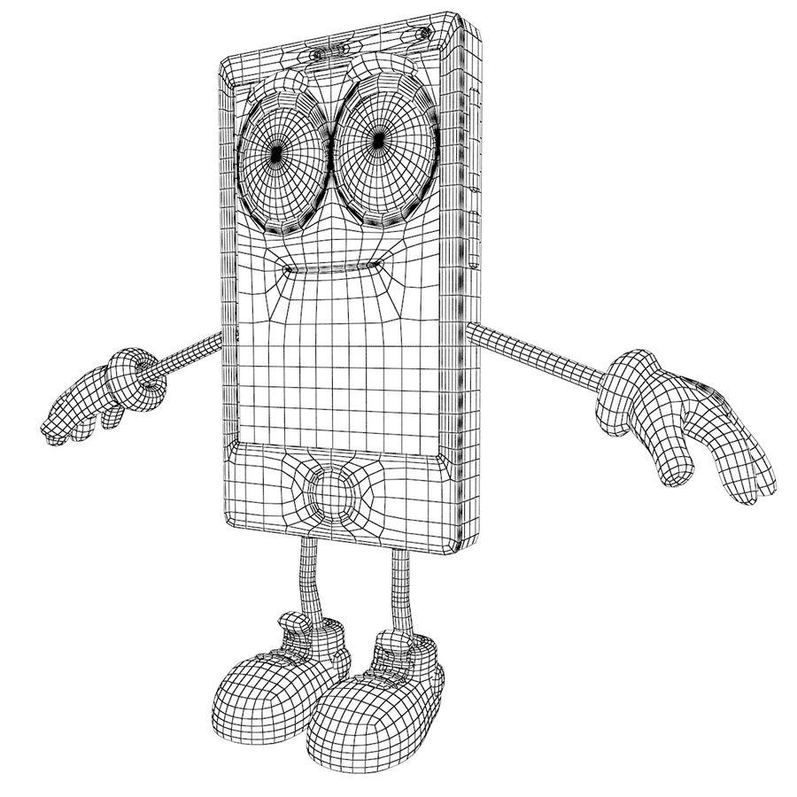 手机 royalty-free 3d model - Preview no. 11
