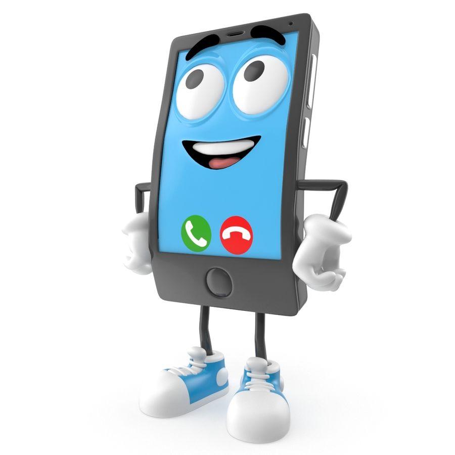 手机 royalty-free 3d model - Preview no. 1