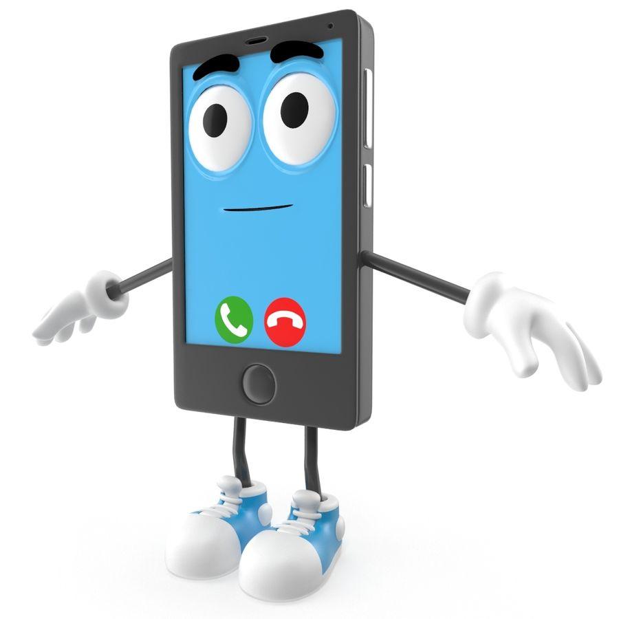 手机 royalty-free 3d model - Preview no. 9