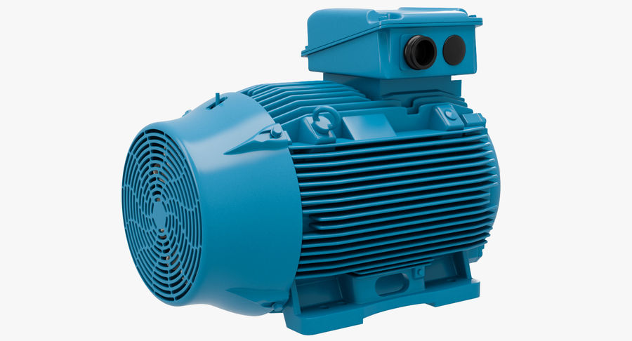 Electric motor royalty-free 3d model - Preview no. 5