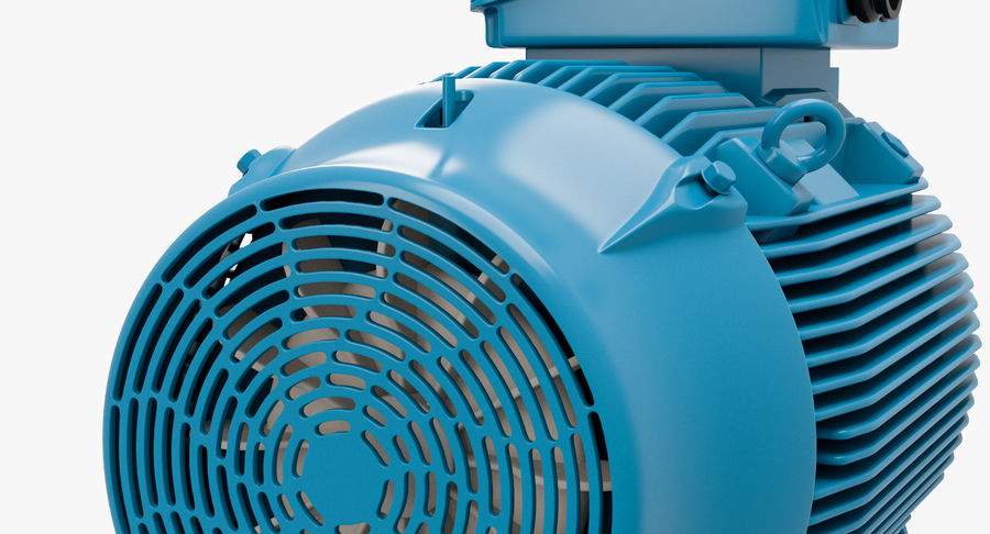 Electric motor royalty-free 3d model - Preview no. 14